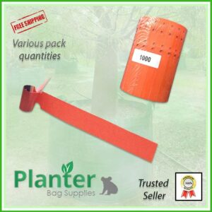 Self locking Vinyl Plant Tag Label at planterbags.com.au