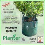 100 litre Woven Planter Bags - for more info go to PlanterBags.com.au