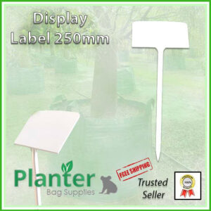 250mm Tree Display Plant Label - for more info go to PlanterBags.com.au