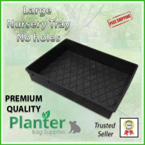 Large Nursery Tray Solid Base